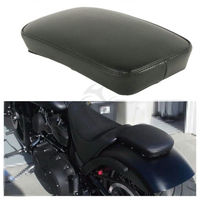 Motorcycle Sissy Bar Passenger Backrest Pad With 6 Sucker Removable For Harley Yamaha Honda Suzuki Kawasaki Custom Bikes Chopper
