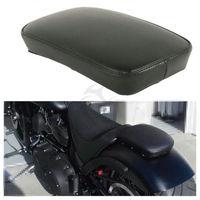 Motorcycle Sissy Bar Passenger Backrest Pad With 6 Sucker Removable For Harley Yamaha Honda Suzuki Kawasaki Custom Bikes Chopper