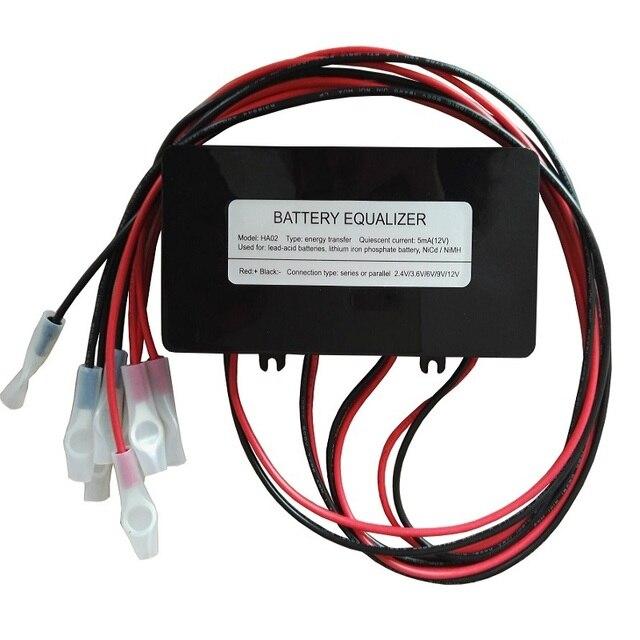 バッテリーイコライザー HA02 バッテリー用 4 個 12V バッテリー接続でシリーズ 48V バッテリーシステムソーラーシステム