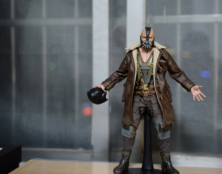 1:6 scale Super flexible figure Batman The Dark Knight Rises bane 12 action figure doll Collectible Model plastic toys .No box 1217 mantra