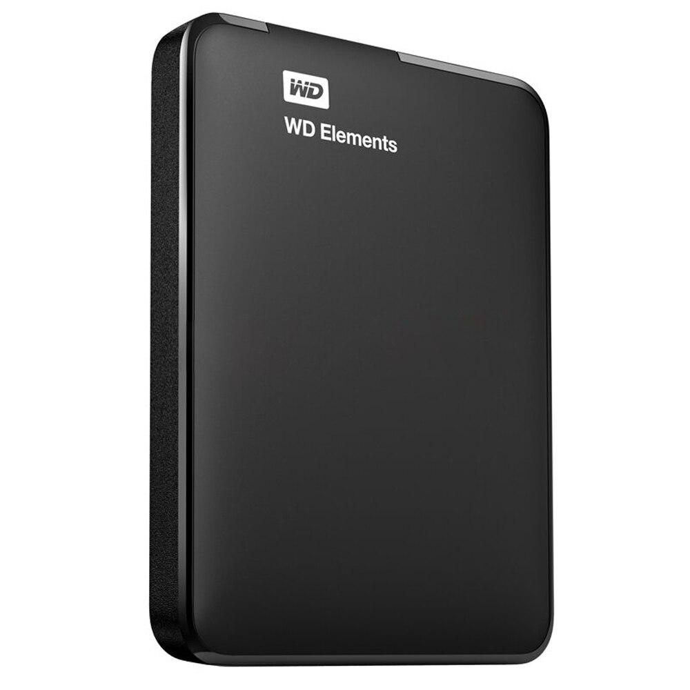 Western Digital WD Elements 1TB USB 3.0 2.5 Portable External Hard Drive WDBUZG0010BBK цена