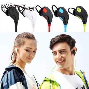 Portable Bluetooth Wireless Headset Handsfree Earphones In-Ear Music Phone Call Battery USB Charging Earphone Headphones