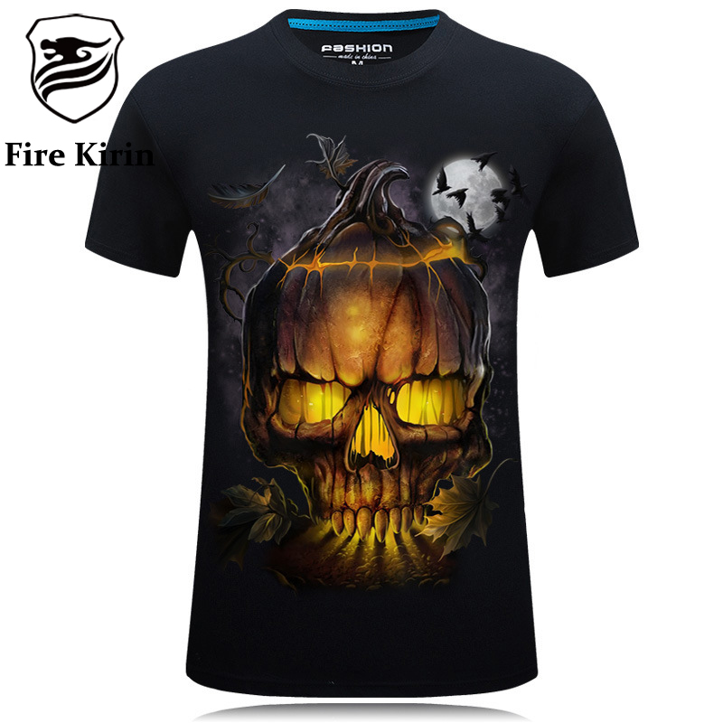 Buy fire kirin t shirt 3d print mens t for On fire brand t shirts