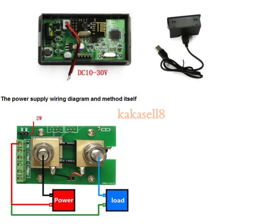 DC 120v 50A LCD Combo Meter Wireless Voltage current KWh Watt Meter 12v 24v 48v Battery aliexpress com buy dc 120v 50a lcd combo meter wireless voltage 48v battery meter wiring diagram at cos-gaming.co