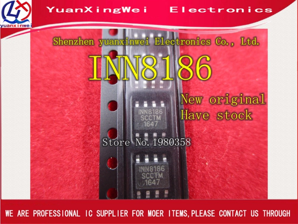 Free shipping 10PCS/lot INN8186 1nn8186 Unique 450mA DiSEqC LNB SUPPLY CHIP NEW IN STOCK free shipping 10pcs lot stp55nf06 p55nf06 mos n to 220 new original