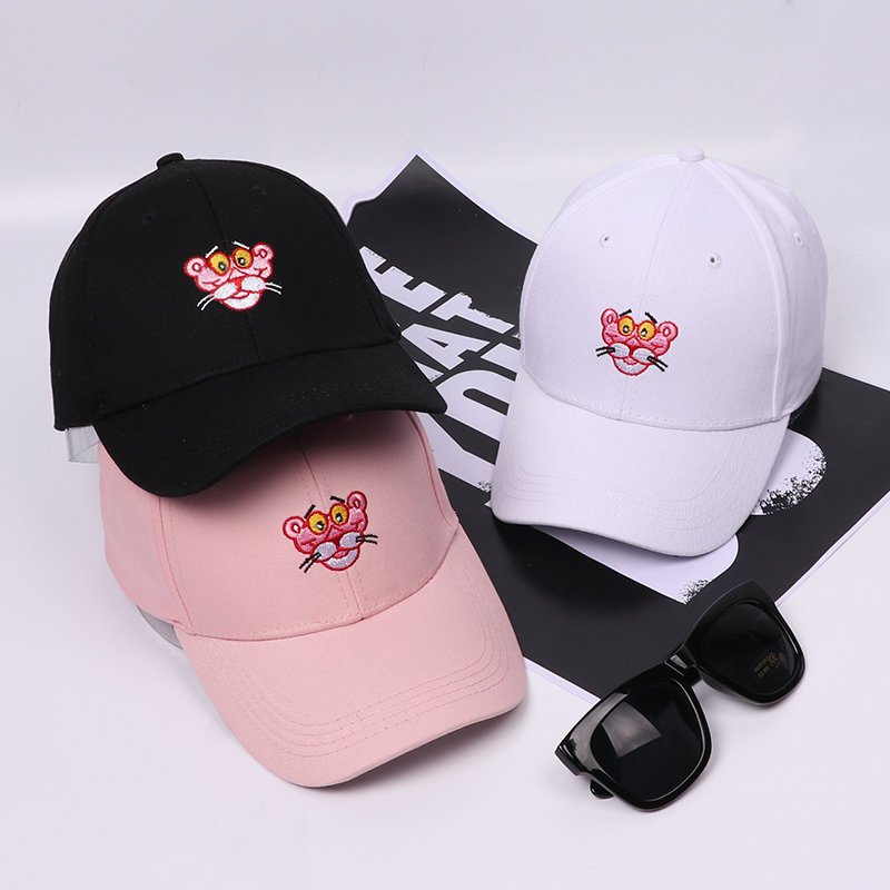 New Fashion Pink Panther   Baseball     Cap   Snapback Hat   Cap   For Men Women Dad Hat Hip Hop Hat Bone Adjustable Casquette