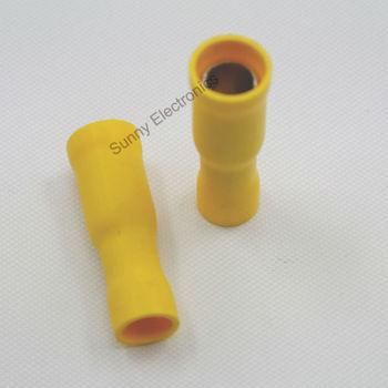 wholesale1000x Yellow 12-10 GAUGE FEMALE BULLET WIRE CONNECTORS SPADES TERMINALS