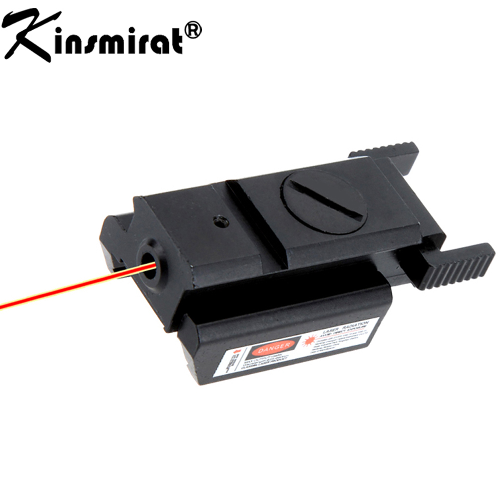 Red Dot Laser Sight With Tail Switch Scope for Gun Rifle Pistol with Lengthen Rat Tail Hunting Optics