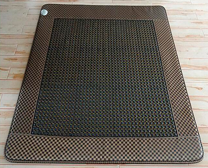 NEW HOT jade mat! Winter keep warm bed cushion tourmaline physical therapy health care mat heat 2 Size for You Choice hot sale good jade mat jade health care heating bed massage mattress jade physical therapy heat mat 3 size for you choice