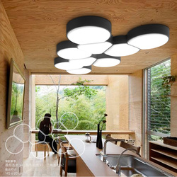 Nowoczesne oświetlenie sufitowe led 12w 30cm oświetlenie kuchni oświetlenie salonu lampy do sypialni lampy sufitowe Plafonnier Led Moderne|modern led|plafonnier led moderneled modern -