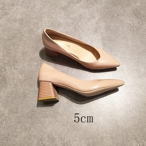 EOEODOIT Square Heels Pointed