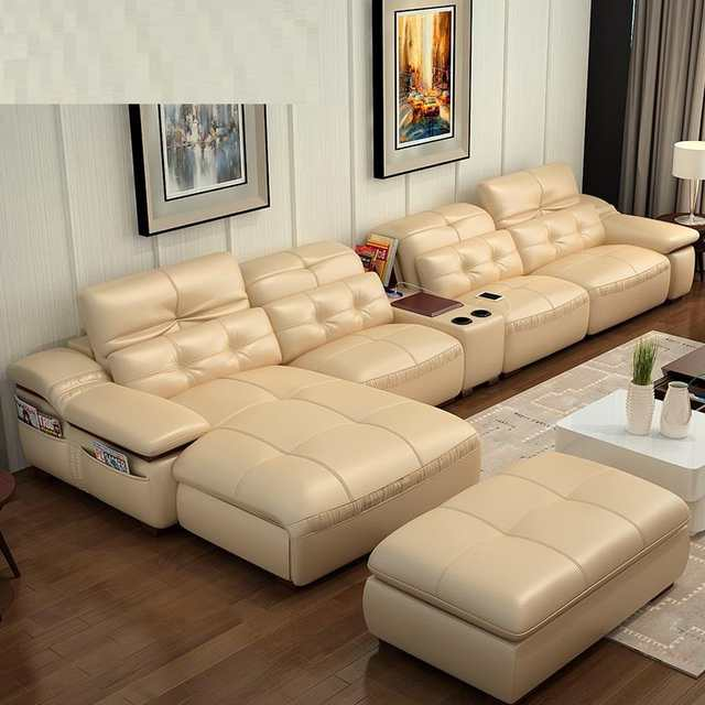 Us 4716 03 35 Off Koltuk Takimi Puff Futon Copridivano Sectional Divano Recliner Leather Set Living Room Furniture Mobilya Mueble De Sala Sofa In