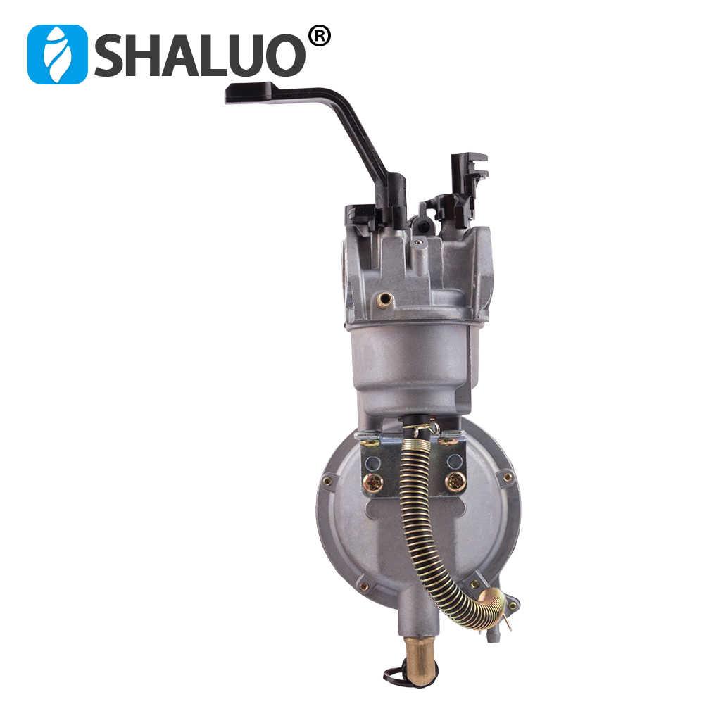 LPG 168 المكربن المزدوج الوقود LPG NG تحويل عدة ل 2KW 3KW 168F 170F مولد بنزين المزدوج الوقود المكربن رائجة البيع