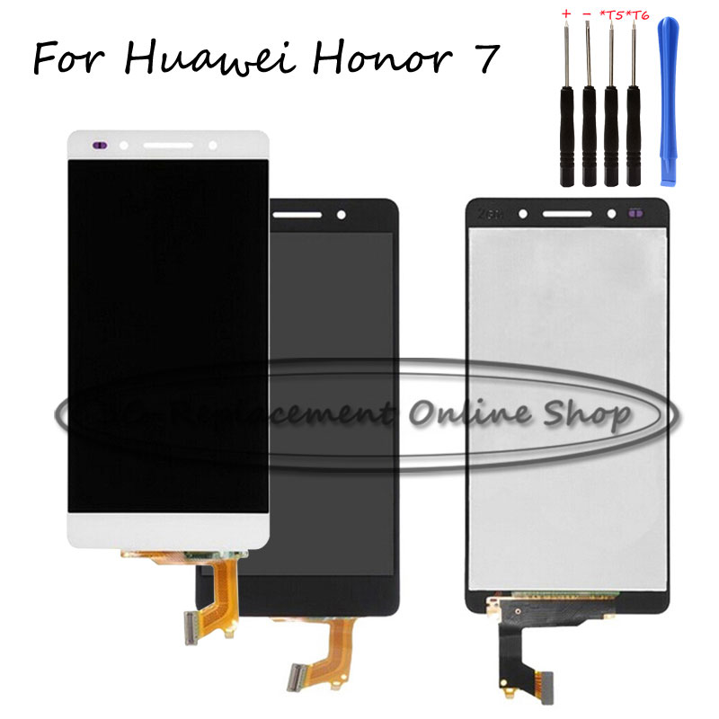 For Huawei Honor 7 Plk Tl01h Plk L01 Plk Ul00 Plk Al10 Lcd Display   Touch Screen Digitizer