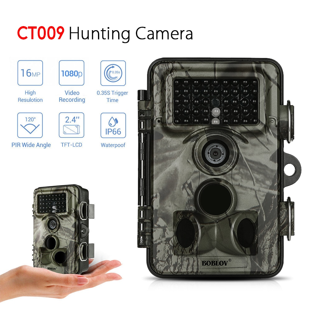 0.35s Trigger Speed 2.4 LCD Display Waterproof Hunting Trail Camera  Night Vision Game Camera Wildlife Hunting Camera 120 Detect0.35s Trigger Speed 2.4 LCD Display Waterproof Hunting Trail Camera  Night Vision Game Camera Wildlife Hunting Camera 120 Detect