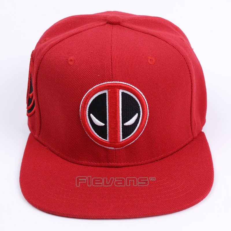 ad0d9083ce7 2017 New Fashion Deadpool Baseball Cap Hip Hop Snapback Cartoon Caps for  Men Women Summer Unisex Adult Hat-in Baseball Caps from Apparel Accessories  on ...