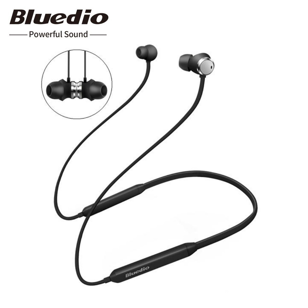 Original Bluedio TN Bluetooth Wireless Earphone ANC V4.2 HiFi Bass Stereo Magnetic Sport Music Headset Mic For Xiaomi iPhone-in Phone Earphones & Headphones from Consumer Electronics on AliExpress