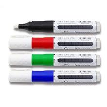 Tinte Hinzufügbaren Farbige Löschbaren Weiß Board Marker Trockenen Löschen Stift Whiteboard Zeichnung Marker Für Magnetische Weiß Bord Schule Liefert