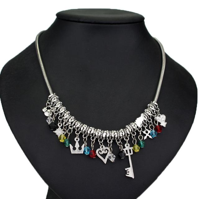 Kingdom Hearts Charm Bracelet: New DIY Jewelry Kingdom Hearts Charm Necklaces & Pendants