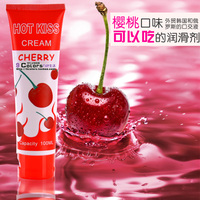 Sex Products 100ml Bottle High Capacity Cherry Lubricant Can Use To Coitus Oral Sex Anal