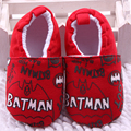 0-2 year old baby boy first walk shoe cartoon batman printing both surface and sole baby shoe sapato bebe Shoes