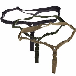 Image 3 - Military Tactical USA One Single Point Toy Gun Sling Rope Adjustable Bungee Rifle Sling Strap System for Airsoft Hunting