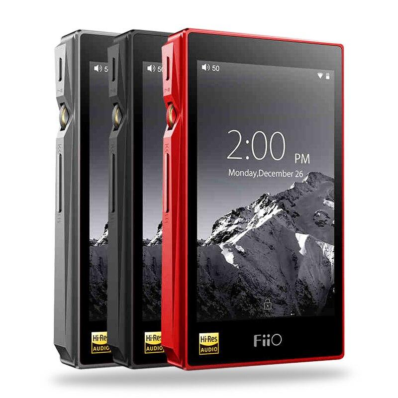 FIIO X5III X5 3nd Génération basé sur Android WIFI Bluetooth APTX Double AK4490 Sans Perte Lecteur de Musique Portable avec 32g de Stockage intégré