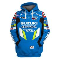 2019 Motorcycle Hoodie For Suzuki Printed Embroidery Auto Logo Sweatshirt Hooded Jacket Coat RR GSXR GXS Moto Clothing