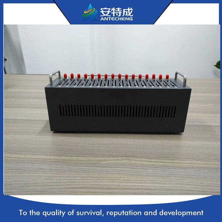 Горячая Распродажа Q24PLUS quad band wavecom gsm 16 порт пул модемов для много sms рекламы