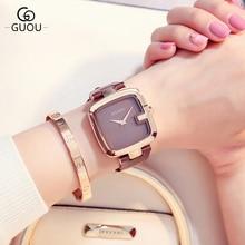 GUOU Brand Watch 2018 New Design Fashion Watch Wome