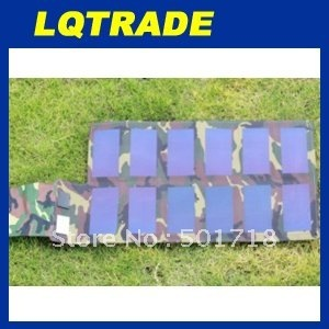Customized 15W 18V Folding flexible solar panel for laptop and mobile phones