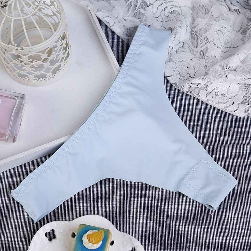2019 nowy styl gorąca sprzedaż figi damskie wygodne Sexy gorące kobiety stringi bielizna-majtki bezszwowe kalesony