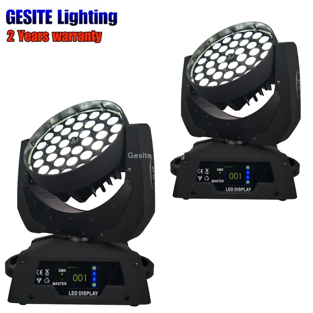 2unit LED Moving Head Wash Zoom, 36x15W, RGBWA 5in1