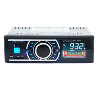 Newest 1 Din Car Bluetooth MP3 Player 12V Car FM Radio Support Hands Free Bluetooth Calling