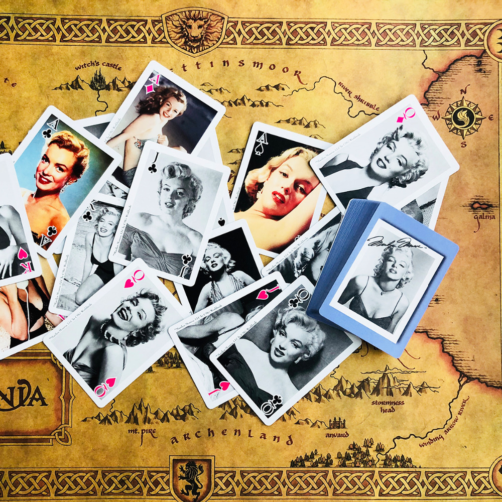 Marilyn Monroe Poker Cards Beautiful Limited Edition Poker Playing Cards Collections