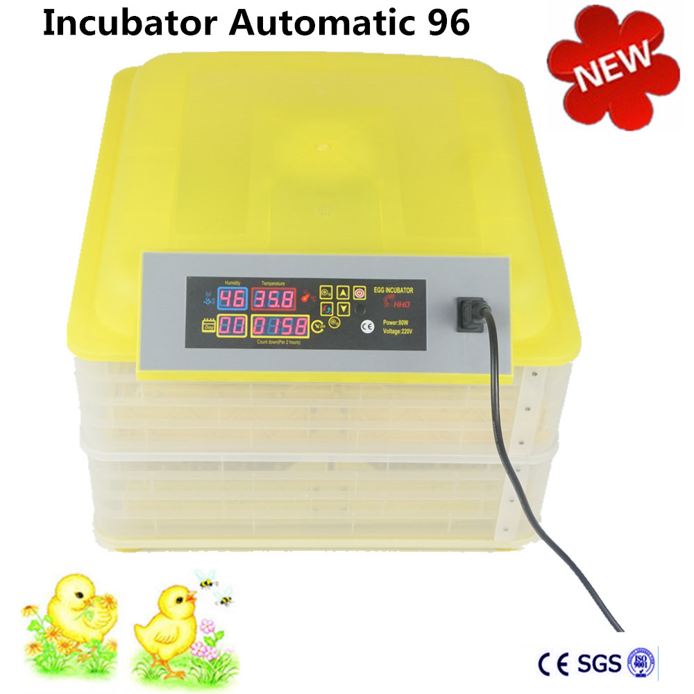 brand new electric mini 96 automatic egg incubator for hatching chicken quail eggs brand new model chicken egg incubation capacity 96 eggs