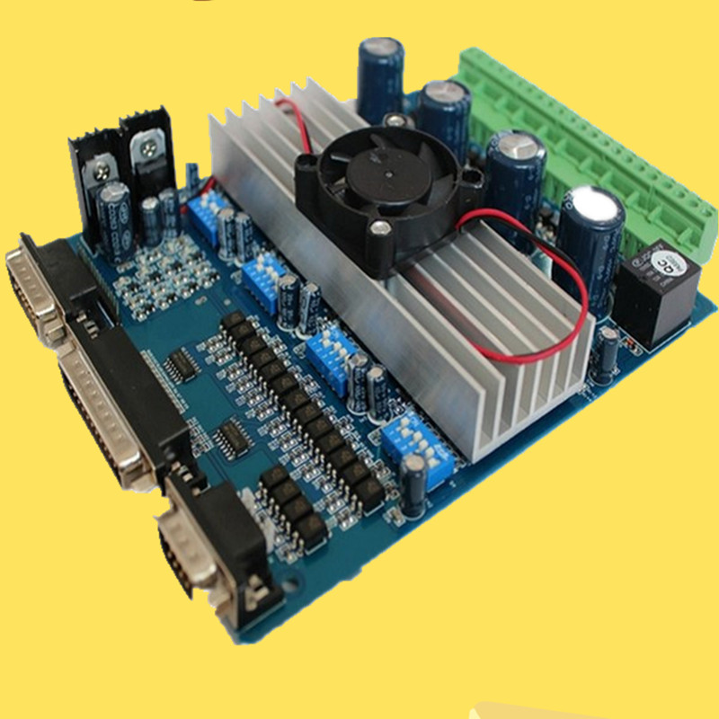 Motor Driver CNC TB6560 4 Axis Stepper Controller Board for Engraving Machine оверлок vlk napoli 2900