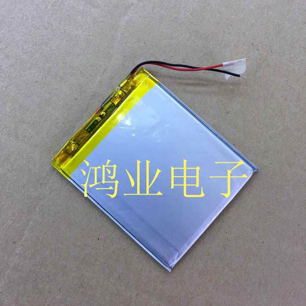 3.7V polymer lithium battery 306070P 1650MAH traveling recorder, MP5 repeater, and other products.
