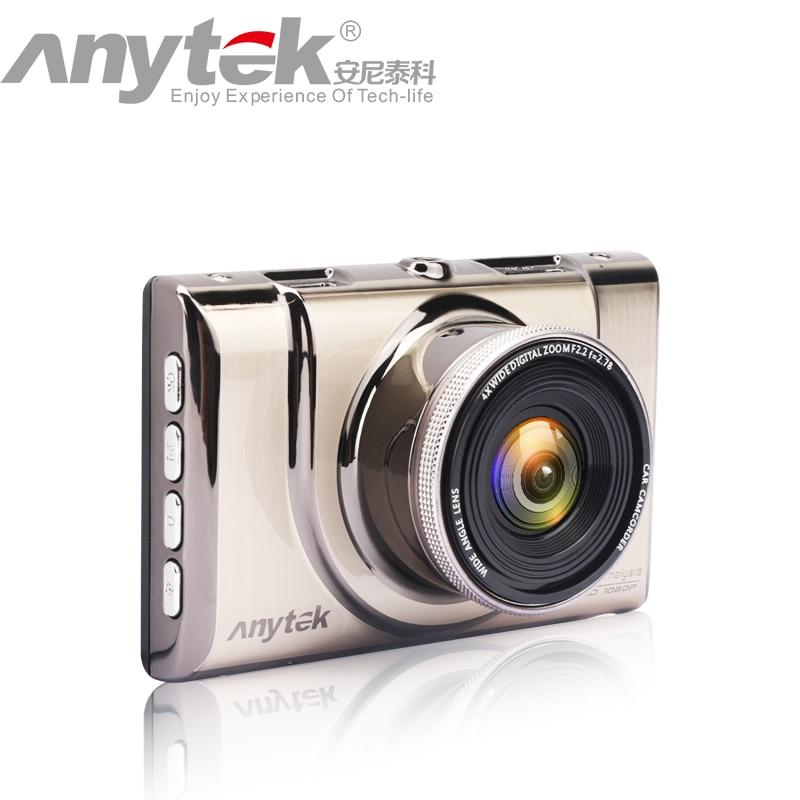 Hot Anytek 1080P Car DVR A100+Novatek 96650 Car Camera  full HD dash cam WDR Parking Monitor Night Vision Black Box колобродов алексей юрьевич захар