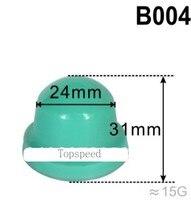 Cabezal de goma de silicona para impresora, almohadilla redonda de 24mm de diámetro para máquina de impresión, base de madera