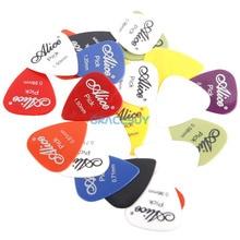 30 unids Bass Guitar Picks Alice Multi Suave ABS Personalizado Accesorios del Instrumento Musical de la Guitarra Eléctrica Acústica Escoge Las Púas Puas