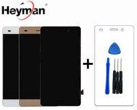 Heyman LCD 화웨이 P8 라이트 (ALE L21) LCD 디스플레이 화면 (블랙, 전면 패널, 터치 스크린)) 교체
