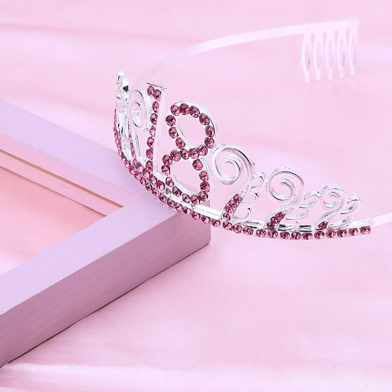 Bride <font><b>Crown</b></font> Popular Rhinestones High-Grade <font><b>Crown</b></font> Headdress Wedding Accessories Tiara <font><b>18th</b></font> <font><b>Birthday</b></font> <font><b>Crown</b></font> Party Favor image