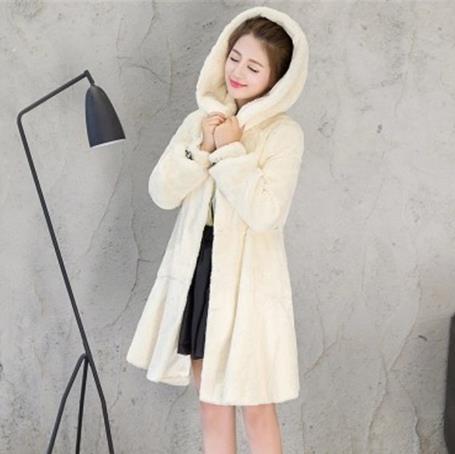 De Veste Z44 Taille Manteau Femme Plus La Artificielle Outwear Chaud Fourrure D'hiver 2018 Faux Clobee Femmes Yfg6Iv7yb