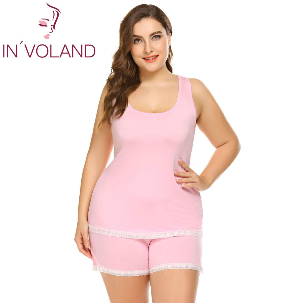 b747da3790 INVOLAND IN VOLAND Women Sleepwear Plus Size ...