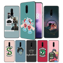 Riverdale TV South Side Serpents Soft Black Silicone Case Cover for OnePlus 6 6T 7 Pro 5G Ultra-thin TPU Phone Back Protective