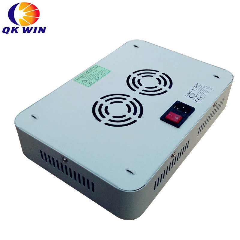 3 шт./лот двойной чип Qkwin 600 Вт светодиодный светать 60x10 Вт двойной чип полный спектр для гидропоники посадка доставка