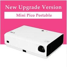 CRE X3001 3LED DLP del obturador 3D Mini Proyector Inteligente