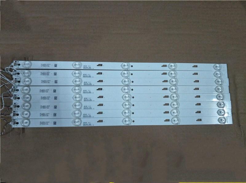 FOR T O Sh I Ba 48L2500C Light Bar 48D1500 48HR332M05A0 V2 4C-LB480T-HR1 1pcs=8led