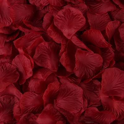 2000pcs/lot Wedding Party Accessories Artificial Flower Rose Petal Fake Petals Marriage Decoration For Valentine supplies 14